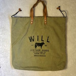 WILL Leather Goods XL Canvas Tote